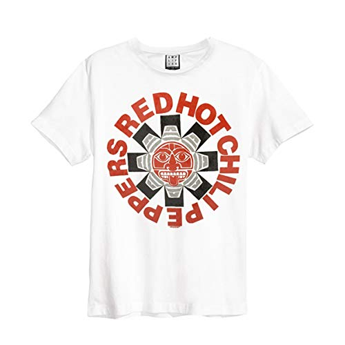 Red Hot Chili Peppers Aztec T-Shirt weiß M