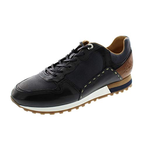 La Martina Herrenschuhe - Sneaker LFM201021 - Navy blu, Schuhgröße:44