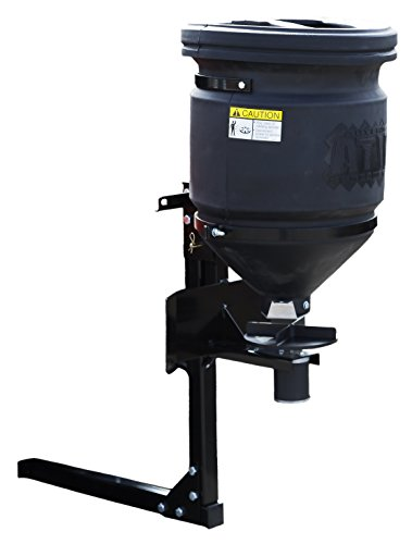 Buyers Products UTV All Purpose Spreader, 150 lb. Capacity with Lid