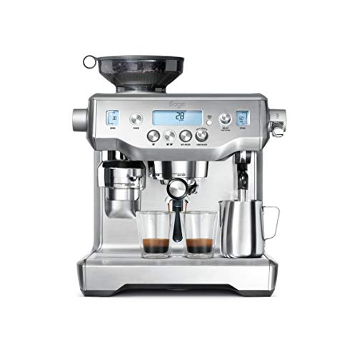Sage the Oracle Freestanding Espresso machine Stainless steel 2.5 L Fully-auto the Oracle, Freestanding, Espresso machine, 2.5 L, Coffee beans, Built-in grinder, Stainless steel