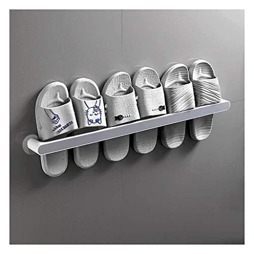 Zapatos montados en la pared Organizador de rack, almacenamiento de zapatos de plástico, soporte de zapatos de almacenamiento de pared montado, estanterías de zapatos Almacenamiento, Mantiene cualquie