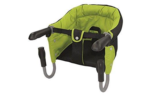 Tischsitz Kind Kleinkind Baby Babysitz Haberkorn Grün-Schwarz