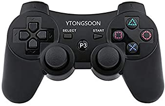 $28 » Brand YTONGSOON Ps3 Wireless Bluetooth Controllers Compatible for Playstation 3