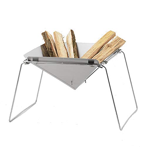 ステンレス製 焚き火台 燕三条製 コンパクト 折りたたみ式