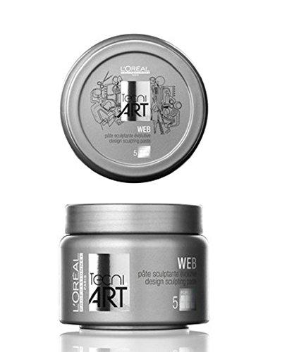 L'Oréal Fix Web Paste 1 x Tecni. art 150 ml pour Coiffage Tenue ultra forte nouvelle série
