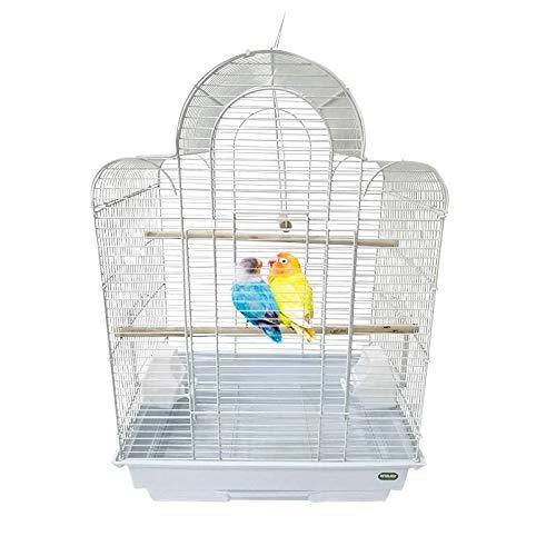 Heritage Cages 9100 Westminster grande canarino fringuelli a forma di gabbia per uccellini, parrocchetti, 42 x 30 x 56 cm: pappagalli Pet Home