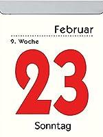 Troetsch Tagesabreisskalender 2022 mit Rueckseitentexten