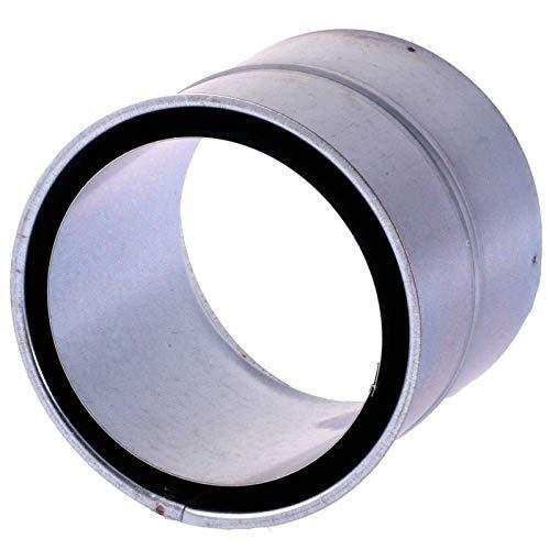 SIDCO Wandfutter doppelt 120 mm Doppelwandfutter Ofenrohr Rauchrohr Kaminrohr Futter