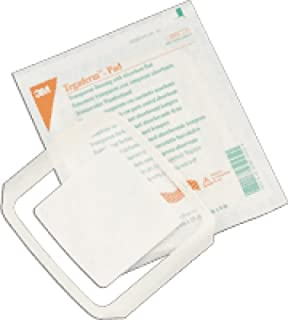 3M Healthcare Tegaderm Film Dressing with Non-adherent Pad 3-1/2