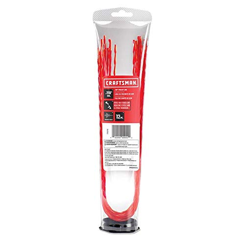 Great Deal! CRAFTSMAN 12-Pack 1.7-ft Spool 0.11-in Pre-Cut Trimmer Line