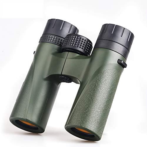 ZMMHW Wasserdichtes Jagd-Vogelbeobachtungsteleskop Professionelles Bak4-Prismenfernglas mit Umhängeband-Tragetasche