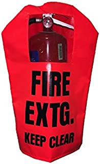 FIRE Extinguisher Cover (PEK 250) - Single - with Window - Small, fits 5-10 lbs extinguishers