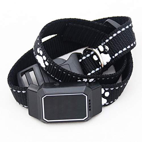 犬トラッカーアクティビティおよびフィットネスモニター、中型および大型犬を呼び出す磁気隠し小型ポータブルトラッキングデバイス防水音声-A