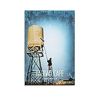 バグダッドカフェ映画ポスターキャンバスアートポスターとウォールアート写真プリントモダンファミリーベッドルームオフィス装飾ポスター24×36インチ(60×90cm)
