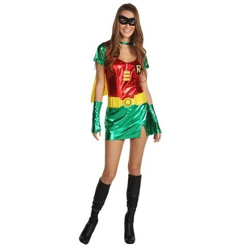 Batman - Disfraz de Robin™ para mujer (talla S)