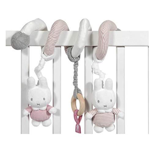 Tiamo NIJN640 Miffy Hase Activity Spielspirale rosa grau weiß