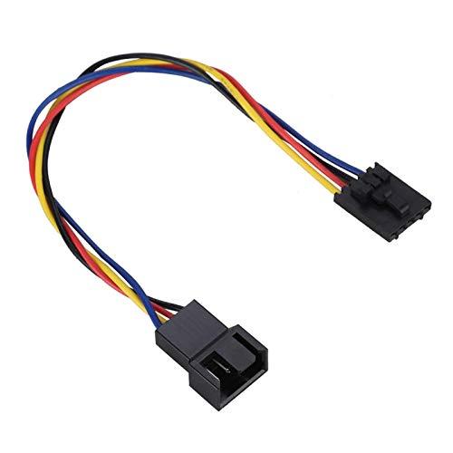 ciciglow Convertidor de Cable Adaptador de Ventilador, 5 Piezas dedicadas duraderas para convertidor de Ventilador DELL