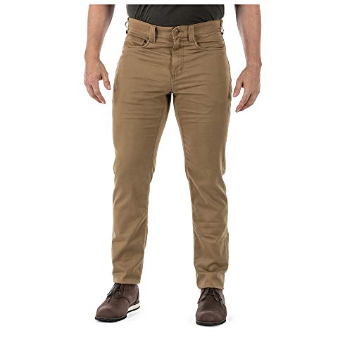 5.11 Tactical Men's Defender-Flex Prestige Pants, Stretch Twill, Style 74511