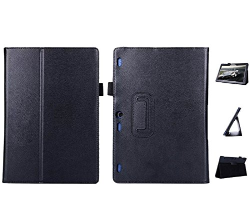 Custodia per Lenovo Tab 10 TB-X103F 10.1 pollici Tablet Custodia in ecopelle Smart Cover Flip Case Nero