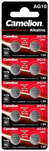 Camelion AG 10/LR54/LR1131/389 Blister de 10 Piles