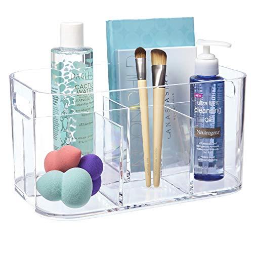 STORi Bliss 5-Compartment Plastic Organizer | Clear