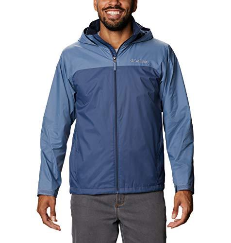 Columbia Glennaker Lake Lined Rain Jacket Chaqueta entallada, azul, XL para Hombre