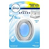 Febreze Small Spaces Air Freshener, Odor Eliminating, Linen & Sky, 1 Count