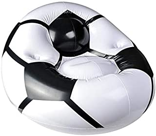Rhode Island Novelty 45 Inch by 44 Inch by 25 Inch Inflatable Soccer Ball Chair One Chair