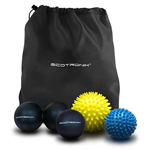 Juego de pelotas de masaje ECOTRONIK - Juego de 2 pelotas con ...