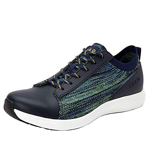 Alegria TRAQ Qest Womens Smart Walking Shoe Multiplex Green 6 M US