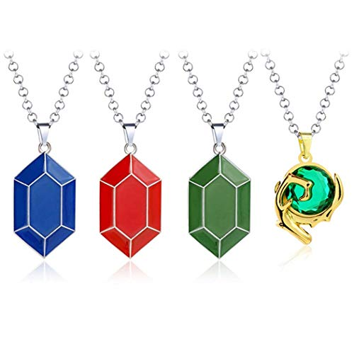 Legend of Zelda Necklace Zelda Coin Peso Pendant Metal Rope Chain Necklaces