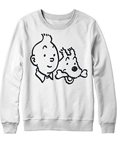 Le sweatshirt Tintin et Milou