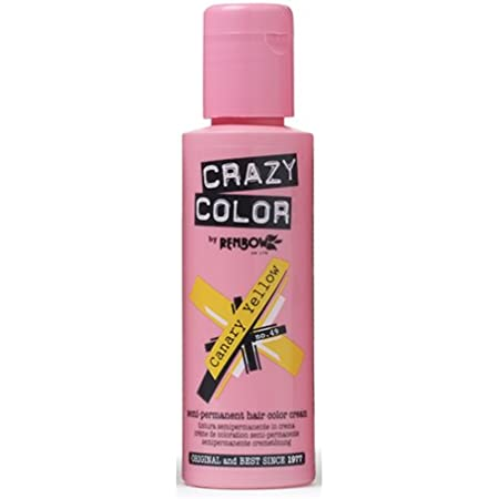 Crazy Color Canary Yellow Nº 49 Crema Colorante del Cabello Semi-permanente