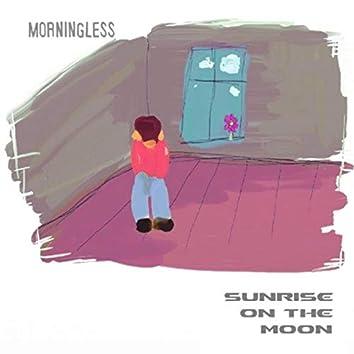 Sunrise on the Moon