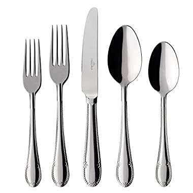 Mademoiselle 44 Piece Flatware Set by Villeroy & Boch - Service for 8