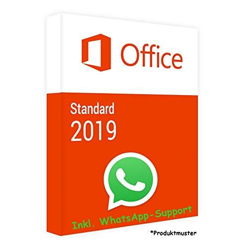 MS Office 2019 Standard LIZENZ KEY - POSTBRIEF-VERSAND - 32 & 64 Bit - 1 Aktivierung / 1 PC + Anleitung von U-S-B Unleashed-Shop-Bolt®