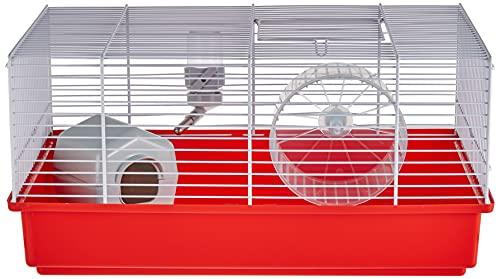 Ferplast Cage Gabbia per Criceti Accessori Inclusi, Blau, 1 unità (Confezione da 1)