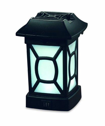 Thermacell MR - 9W Mückenschutz Terrassen-Laterne Außenlampe zur Abwehr gegen Fluginsekten, schwarz