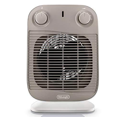 De'longhi HFS50C22 - Termoventilador, 2200w, 3 niveles potencia, ventilación de verano, termostato regulable, blanco