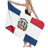 Meiya-Design - Toalla de baño con diseño de Bandera de la República Dominicana, Muy Absorbente, Multiusos, Toalla de Playa de Gran tamaño para Viajes, baño, Hotel, Gimnasio, SPA, 31 x 51 Pulgadas