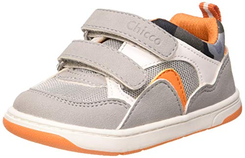 Chicco Scarpa Gavino, Sneaker Bambino, Grigio (Grigio 950), 23 EU