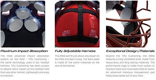 Schutt Unisex's AiR MAXX Hockey-Style Catcher's Helmet with Facemask, Purple, One Size