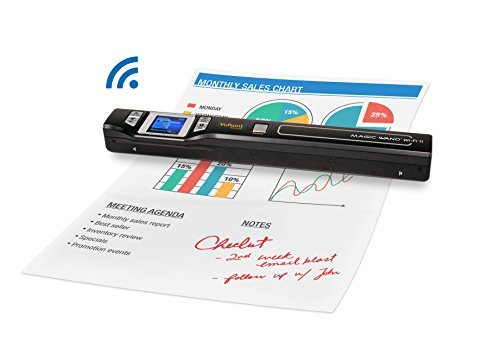 Document/Image Scanner 8X Zoom VuPoint ST47 Magic Wand [Portable, LCD Screen,...