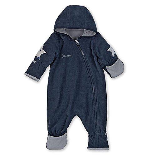 Sterntaler - Baby Overall Jungen Fleece, dunkelblau - 5501702, Größe 86