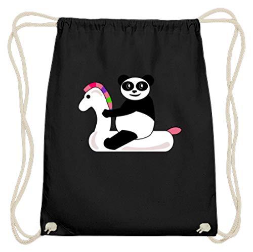 Pool Party – eenhoorn, hoorn, eenhoorn, panda, kung vo, paarden, ponys, feesten, feesten, party's – katoenen gymsac