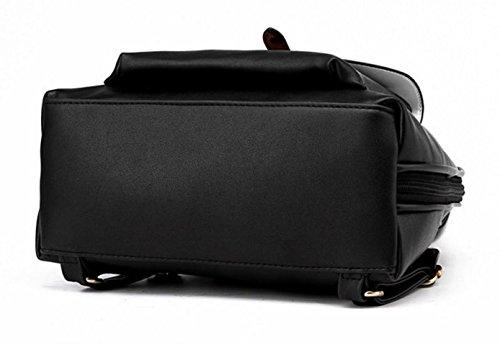 2wayPUレザーバッグきれいめ通勤通学大容量リュックショルダー肩掛け金具レディース(ピーチピンク)