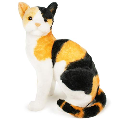 VIAHART Catalina The Calico Cat | 13 inch Stuffed Animal Plush | by Tiger Tale Toys