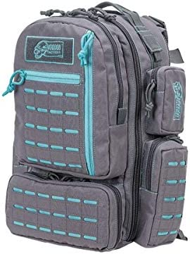 VooDoo Tactical 15 0058161000 Mini Tobago Pack with Die Cut Molle Gray with Teal product image