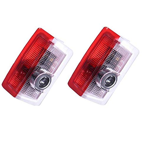 2PCS Autotür Logo Licht Liuer LED Einstiegsbeleuchtung Tür 3D Laser Licht Willkommen Projektion Türbeleuchtung für Klasse B Klasse C Klasse E Klasse W205 W176 W212 W166 W246 GLC GLE GLS GLA