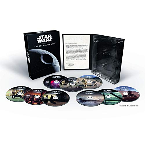 Pack Star Wars: The Skywalker Saga DVD (9 películas)
